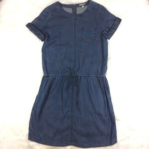 Halogen Nordstrom Chambray Denim Shirt Dress